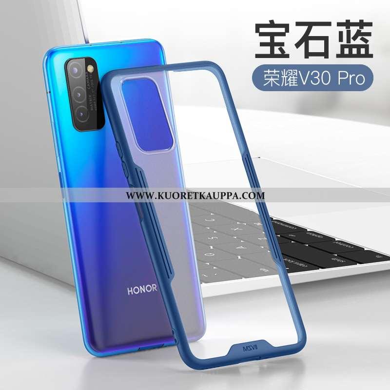 Kuori Honor View30 Pro, Kuoret Honor View30 Pro, Kotelo Honor View30 Pro Pehmeä Neste Valo Sininen P