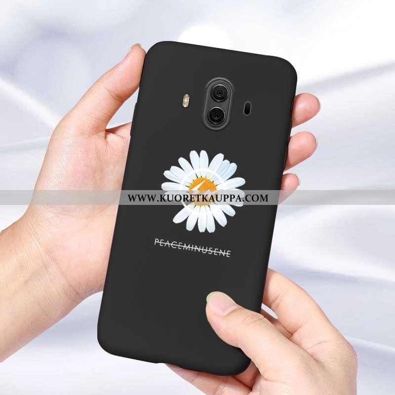 Kuori Huawei Mate 10, Kuoret Huawei Mate 10, Kotelo Huawei Mate 10 Persoonallisuus Suuntaus Musta Yk