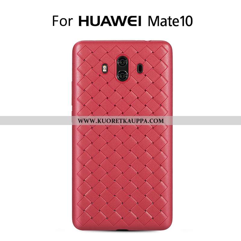 Kuori Huawei Mate 10, Kuoret Huawei Mate 10, Kotelo Huawei Mate 10 Valo Lisävarusteet Jauhe Nahka Ku