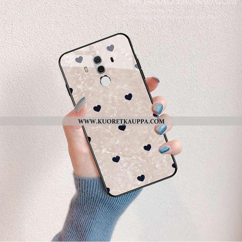 Kuori Huawei Mate 10 Pro, Kuoret Huawei Mate 10 Pro, Kotelo Huawei Mate 10 Pro Silikoni Lasi Suuntau