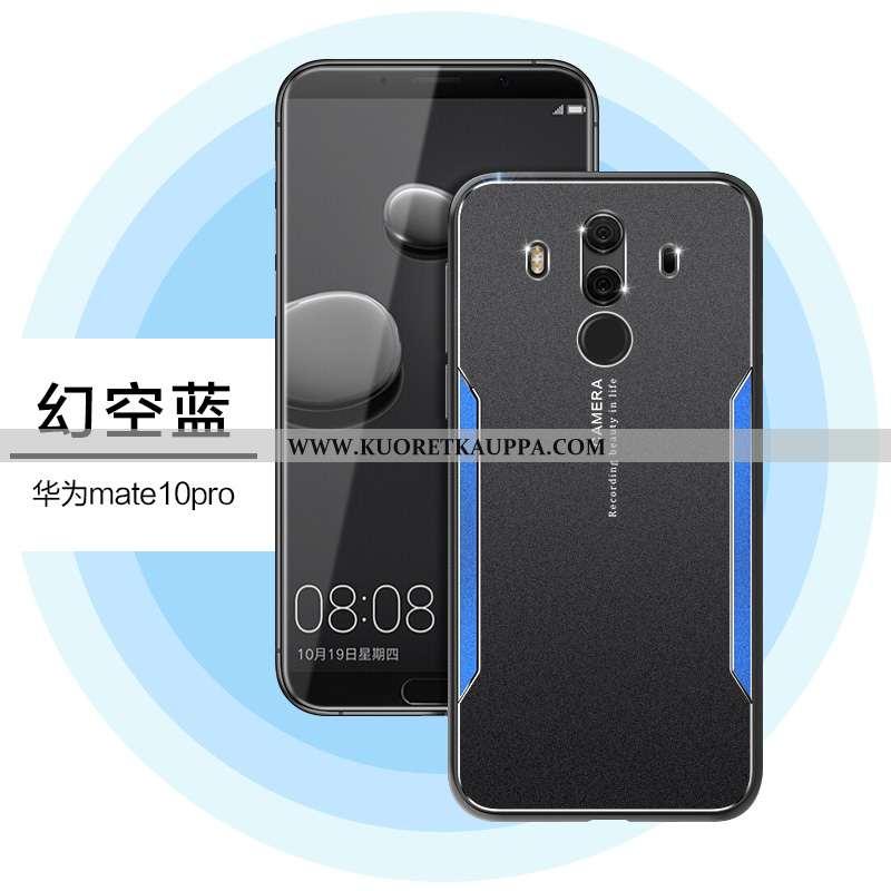 Kuori Huawei Mate 10 Pro, Kuoret Huawei Mate 10 Pro, Kotelo Huawei Mate 10 Pro Silikoni Metalli Pest