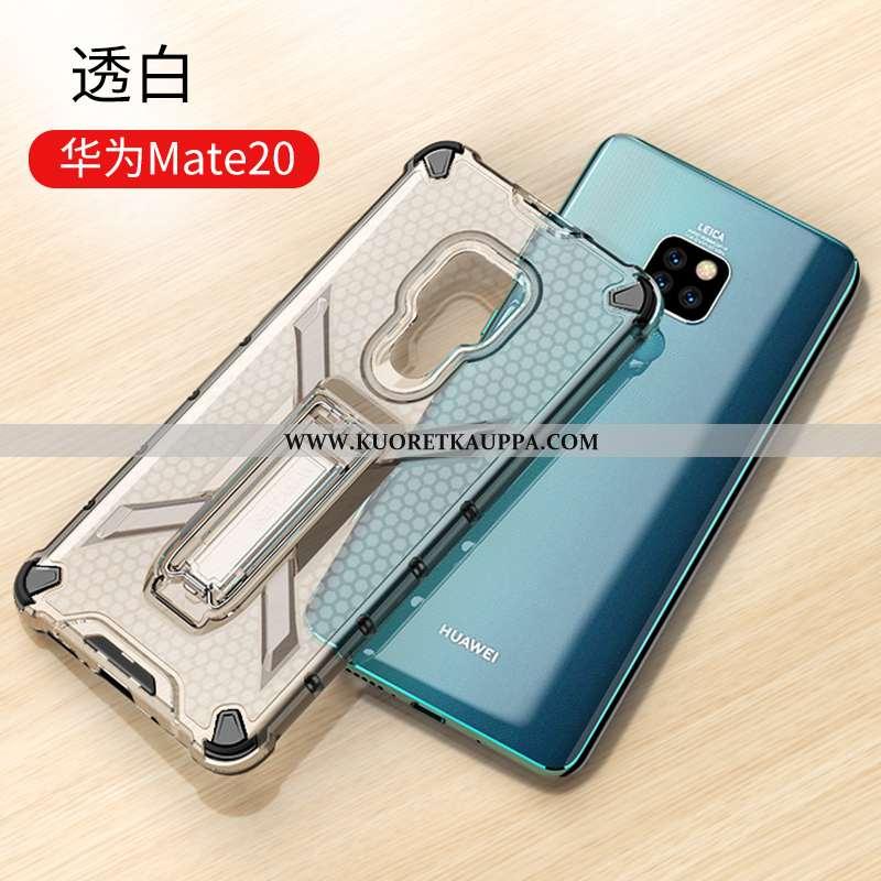 Kuori Huawei Mate 20, Kuoret Huawei Mate 20, Kotelo Huawei Mate 20 Läpinäkyvä Suuntaus Tuki Suupaltt