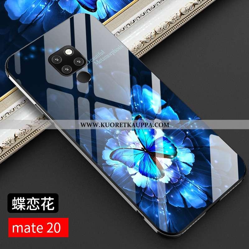 Kuori Huawei Mate 20, Kuoret Huawei Mate 20, Kotelo Huawei Mate 20 Lasi Tila Persoonallisuus Murtuma