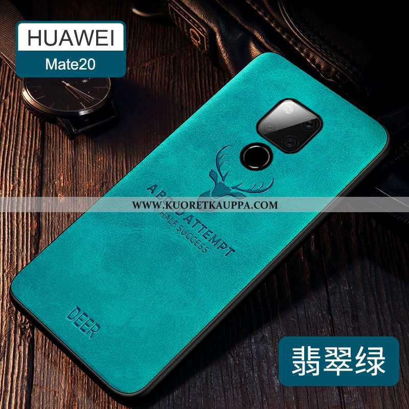 Kuori Huawei Mate 20, Kuoret Huawei Mate 20, Kotelo Huawei Mate 20 Silikoni Suojaus Vihreä Ultra