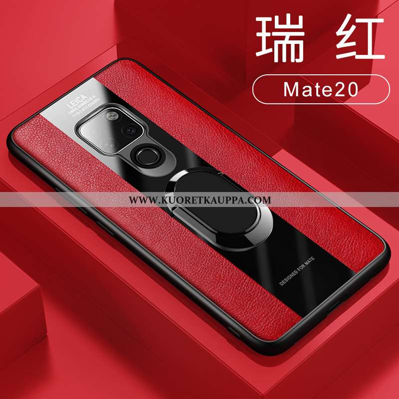 Kuori Huawei Mate 20, Kuoret Huawei Mate 20, Kotelo Huawei Mate 20 Suojaus Nahkakuori Magneettinen R