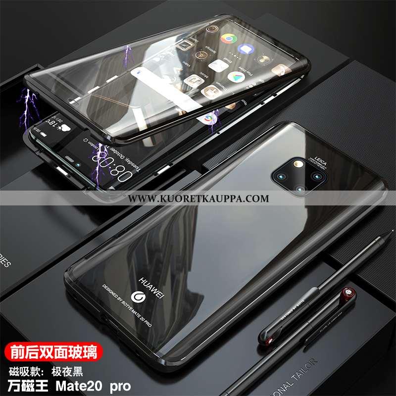 Kuori Huawei Mate 20 Pro, Kuoret Huawei Mate 20 Pro, Kotelo Huawei Mate 20 Pro Lasi Läpinäkyvä Puhel