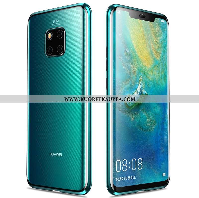 Kuori Huawei Mate 20 Pro, Kuoret Huawei Mate 20 Pro, Kotelo Huawei Mate 20 Pro Suuntaus Metalli Vihr