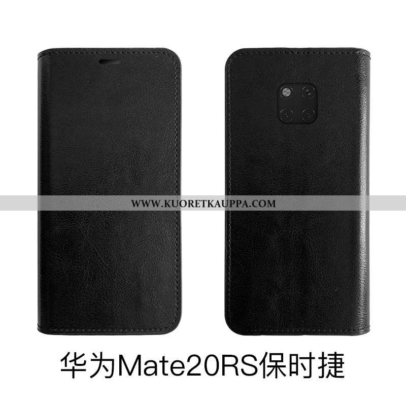 Kuori Huawei Mate 20 Rs, Kuoret Huawei Mate 20 Rs, Kotelo Huawei Mate 20 Rs Aito Nahka Suojaus Nahka