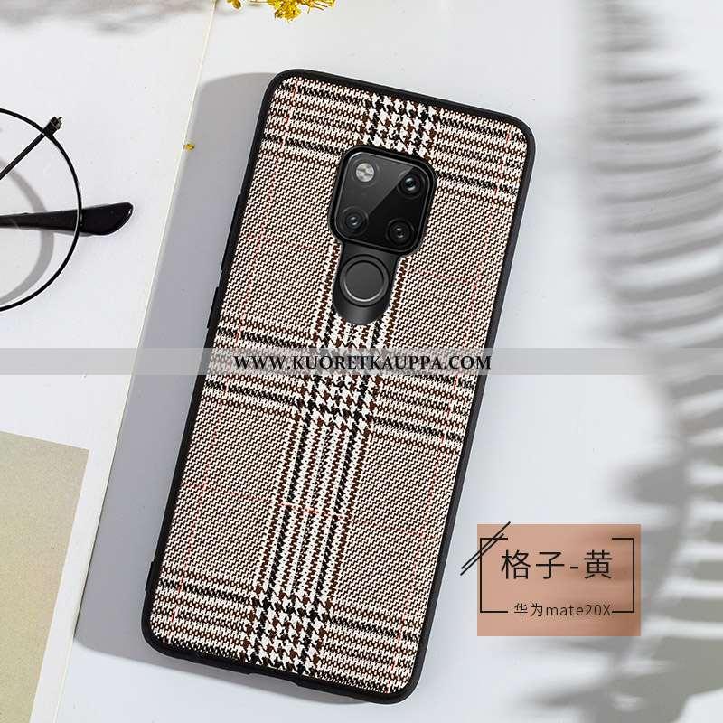 Kuori Huawei Mate 20 X, Kuoret Huawei Mate 20 X, Kotelo Huawei Mate 20 X Ultra Pehmeä Neste Lehmä Pu