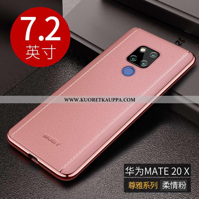 Kuori Huawei Mate 20 X, Kuoret Huawei Mate 20 X, Kotelo Huawei Mate 20 X Ultra Pehmeä Neste Murtumat