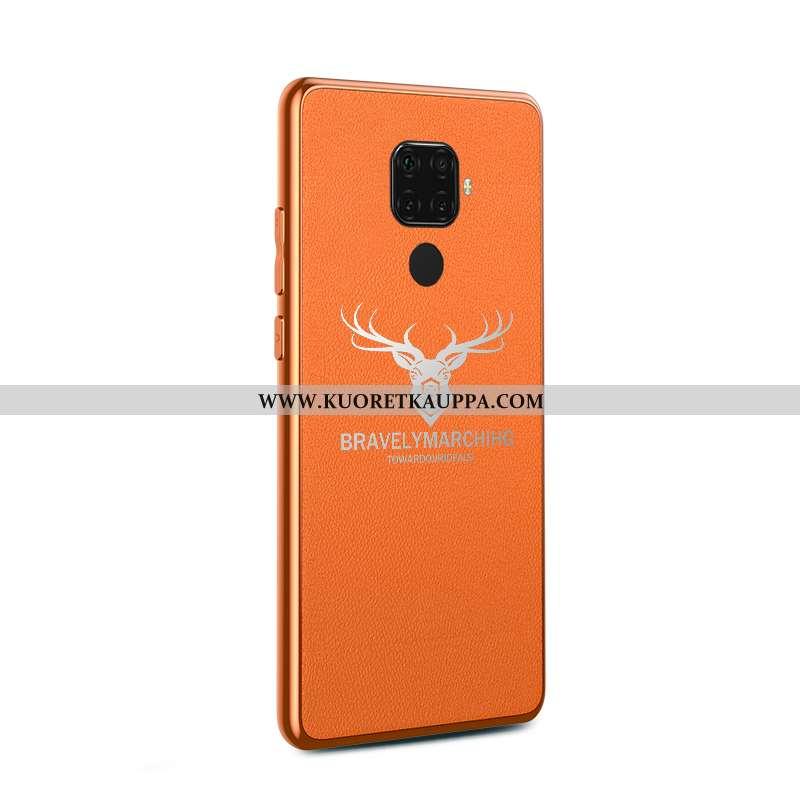 Kuori Huawei Mate 30 Lite, Kuoret Huawei Mate 30 Lite, Kotelo Huawei Mate 30 Lite Tila Nahka Puhelim