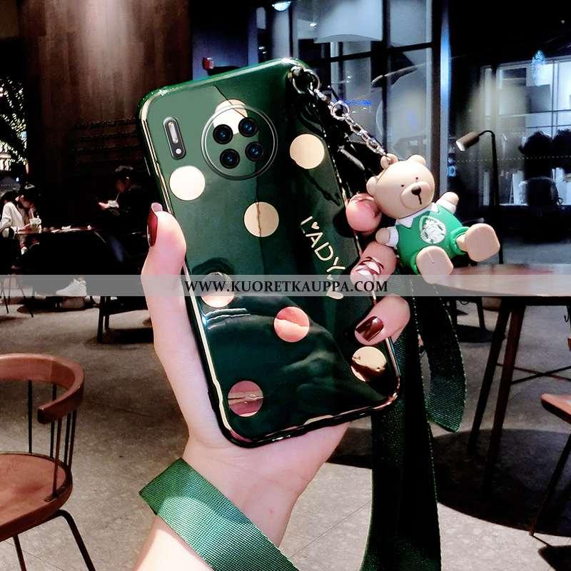 Kuori Huawei Mate 30 Pro, Kuoret Huawei Mate 30 Pro, Kotelo Huawei Mate 30 Pro Luova Suuntaus Vihreä