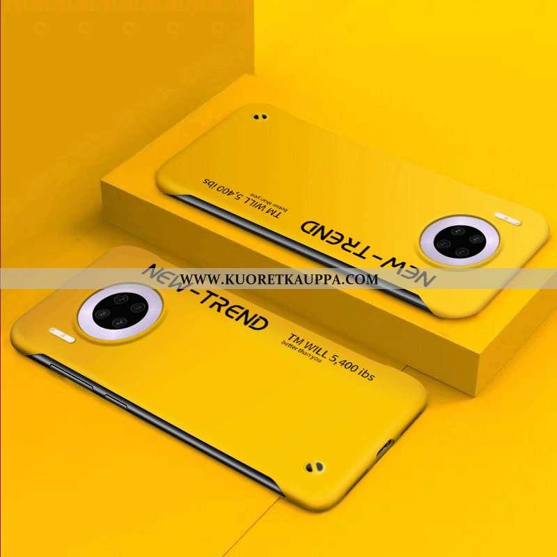 Kuori Huawei Mate 30 Pro, Kuoret Huawei Mate 30 Pro, Kotelo Huawei Mate 30 Pro Suuntaus Ultra Keltai
