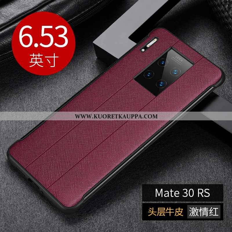 Kuori Huawei Mate 30 Rs, Kuoret Huawei Mate 30 Rs, Kotelo Huawei Mate 30 Rs Luova Aito Nahka Ylellis