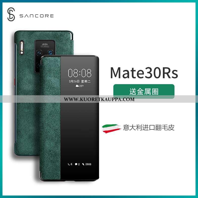 Kuori Huawei Mate 30 Rs, Kuoret Huawei Mate 30 Rs, Kotelo Huawei Mate 30 Rs Suojaus Suuntaus Vihreä