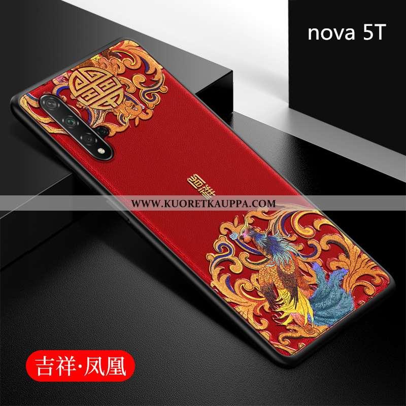 Kuori Huawei Nova 5t, Kuoret Huawei Nova 5t, Kotelo Huawei Nova 5t Luova Suuntaus Silikoni Puhelimen