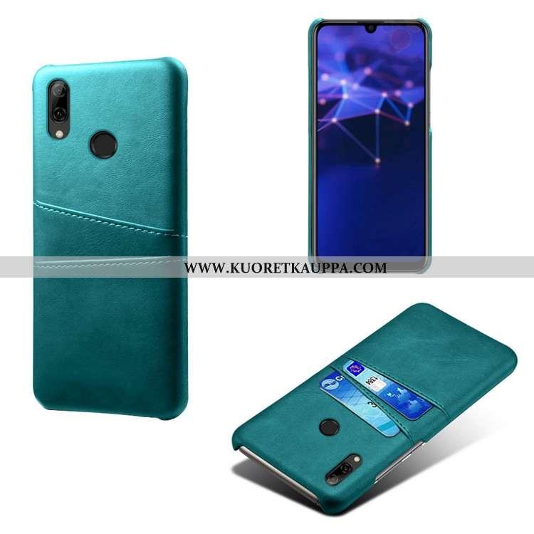 Kuori Huawei P Smart 2020, Kuoret Huawei P Smart 2020, Kotelo Huawei P Smart 2020 Kukkakuvio Nahka L