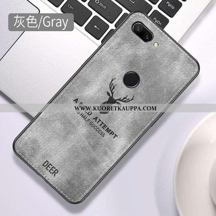 Kuori Huawei P Smart, Kuoret Huawei P Smart, Kotelo Huawei P Smart Kukkakuvio Suojaus Kova Murtumato