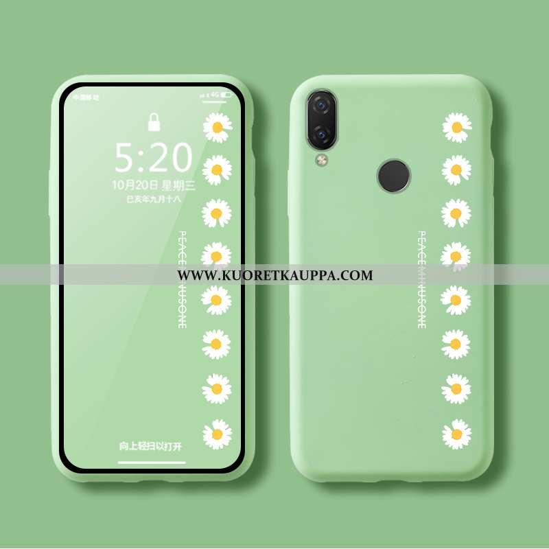 Kuori Huawei P Smart+, Kuoret Huawei P Smart+, Kotelo Huawei P Smart+ Pehmeä Neste Silikoni Murtumat