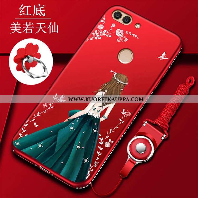Kuori Huawei P Smart, Kuoret Huawei P Smart, Kotelo Huawei P Smart Rhinestone Inlay Persoonallisuus