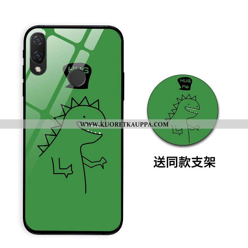 Kuori Huawei P Smart+, Kuoret Huawei P Smart+, Kotelo Huawei P Smart+ Sarjakuva Ihana Suuntaus Lohik