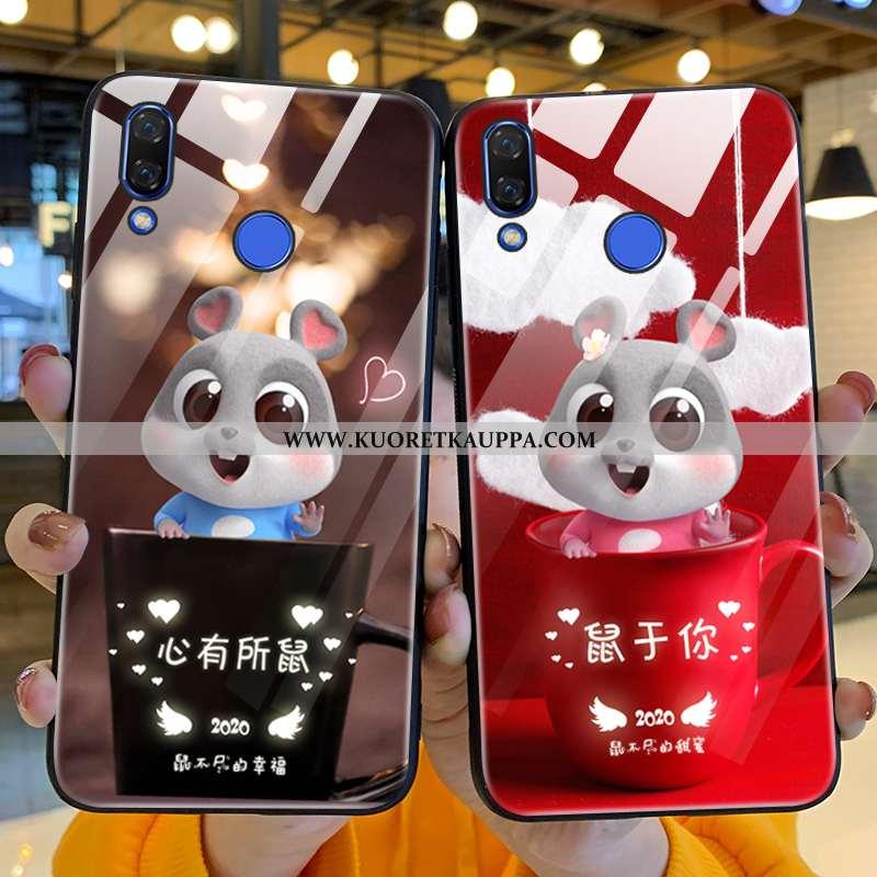 Kuori Huawei P Smart+, Kuoret Huawei P Smart+, Kotelo Huawei P Smart+ Sarjakuva Suuntaus Maalaus Las