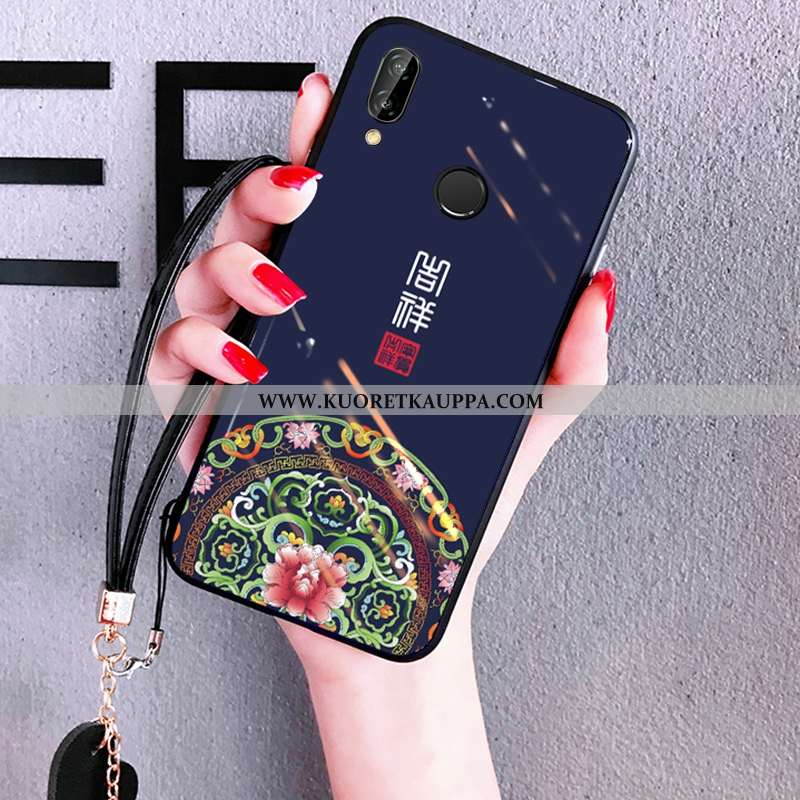 Kuori Huawei P Smart+, Kuoret Huawei P Smart+, Kotelo Huawei P Smart+ Suuntaus Pehmeä Neste Peili Ne