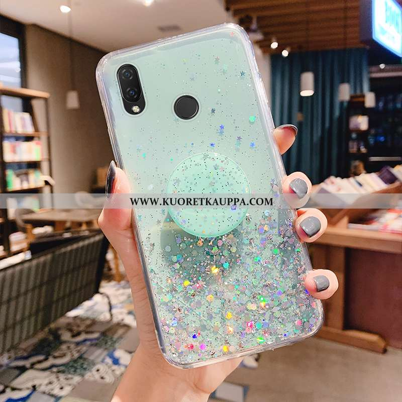 Kuori Huawei P Smart+, Kuoret Huawei P Smart+, Kotelo Huawei P Smart+ Suuntaus Pehmeä Neste Vaalean