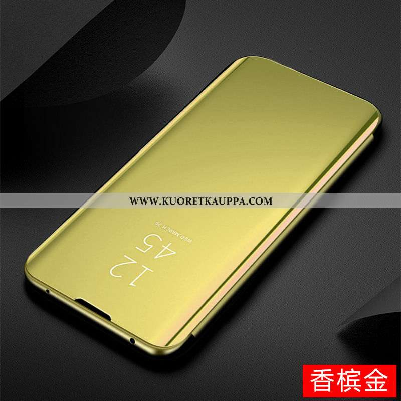 Kuori Huawei P Smart Z, Kuoret Huawei P Smart Z, Kotelo Huawei P Smart Z Läpinäkyvä Kulta 2020 Puhel