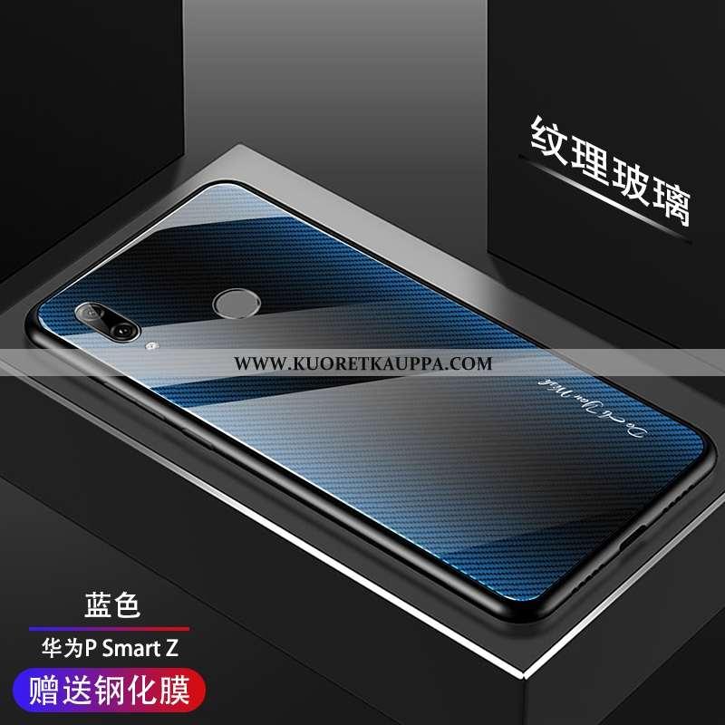 Kuori Huawei P Smart Z, Kuoret Huawei P Smart Z, Kotelo Huawei P Smart Z Suuntaus Silikoni Sininen L
