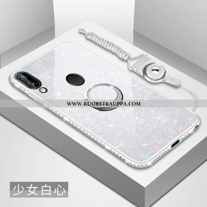 Kuori Huawei P20 Lite, Kuoret Huawei P20 Lite, Kotelo Huawei P20 Lite Lasi Strassi Peili Persoonalli