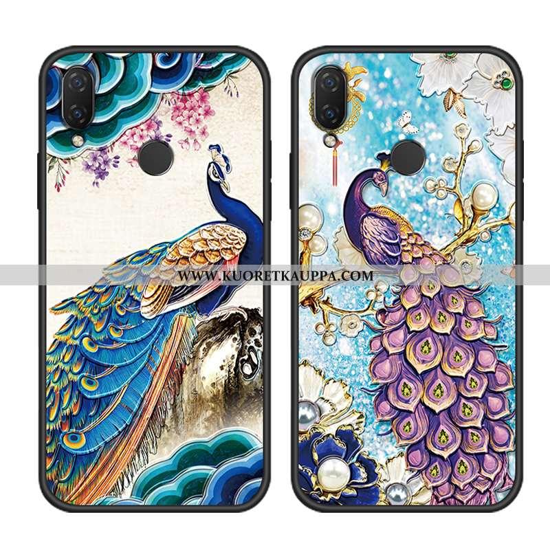 Kuori Huawei P20 Lite, Kuoret Huawei P20 Lite, Kotelo Huawei P20 Lite Vuosikerta Suuntaus Sininen Ra