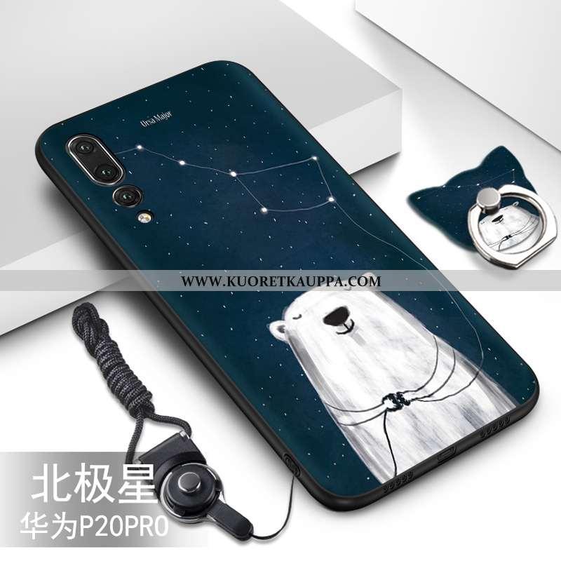 Kuori Huawei P20 Pro, Kuoret Huawei P20 Pro, Kotelo Huawei P20 Pro Luova Sarjakuva Ihana Murtumaton
