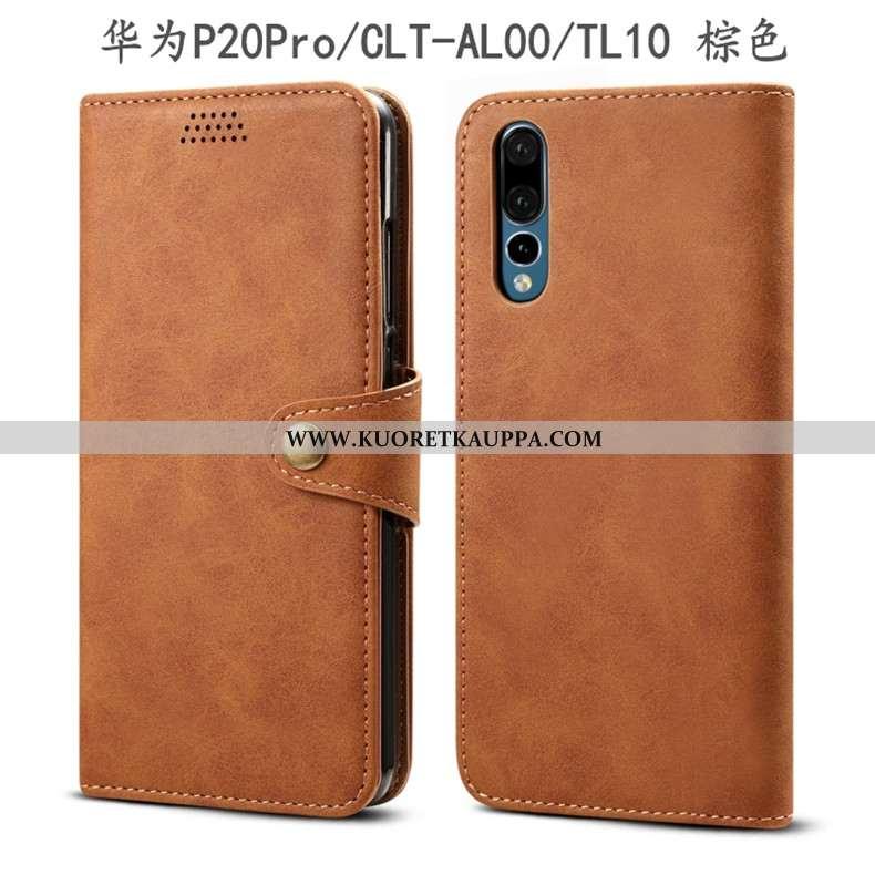 Kuori Huawei P20 Pro, Kuoret Huawei P20 Pro, Kotelo Huawei P20 Pro Nahkakuori Suojaus All Inclusive