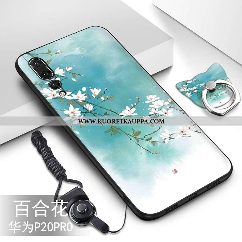 Kuori Huawei P20 Pro, Kuoret Huawei P20 Pro, Kotelo Huawei P20 Pro Suojaus Pehmeä Neste Murtumaton V