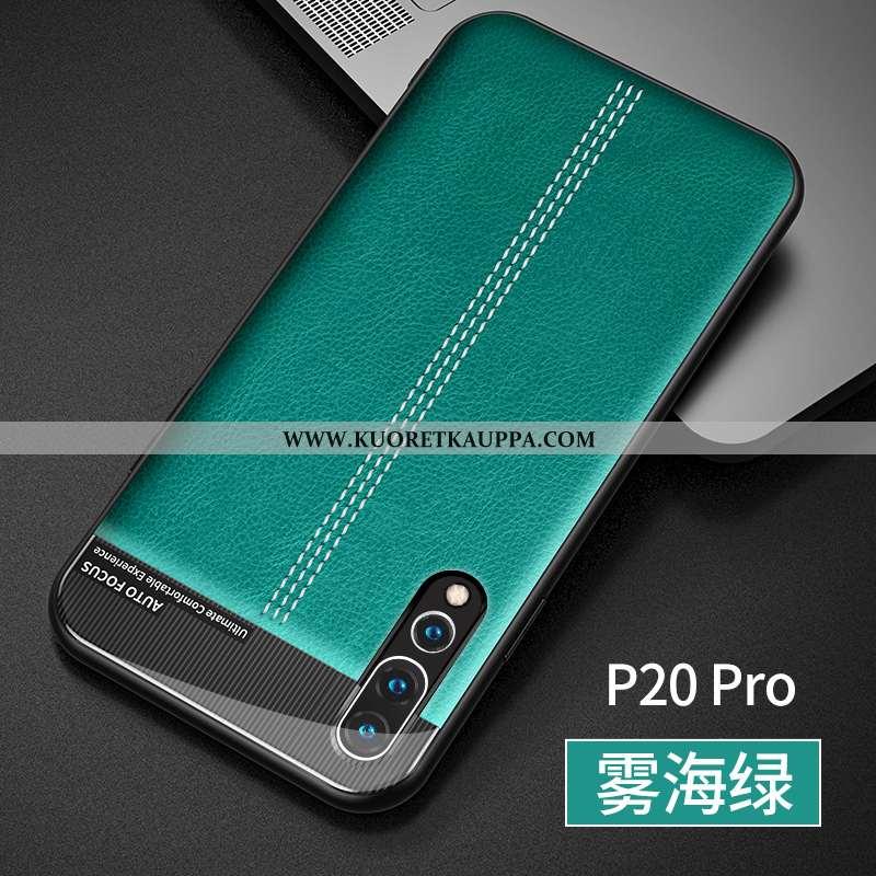 Kuori Huawei P20 Pro, Kuoret Huawei P20 Pro, Kotelo Huawei P20 Pro Ultra Pehmeä Neste Nahkakuori Suo
