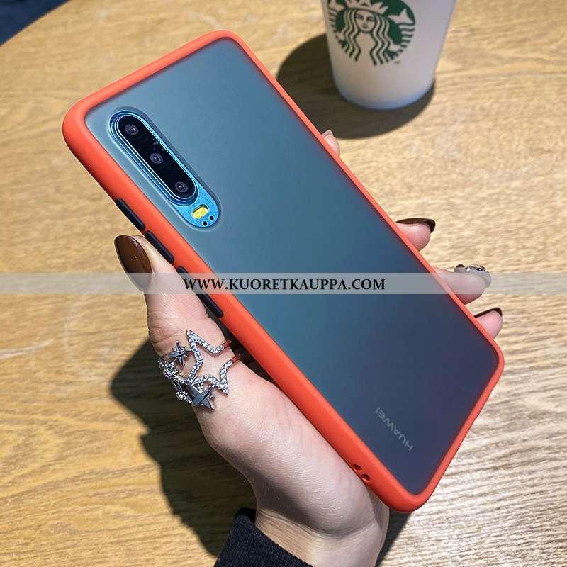 Kuori Huawei P30, Kuoret Huawei P30, Kotelo Huawei P30 Persoonallisuus Luova Suojaus Pesty Suede Peh