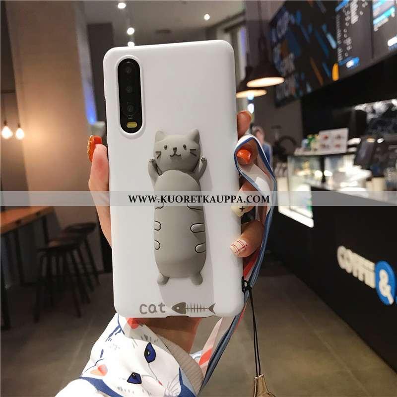 Kuori Huawei P30, Kuoret Huawei P30, Kotelo Huawei P30 Silikoni Ripustettavat Koristeet Persoonallis