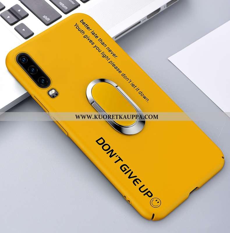 Kuori Huawei P30, Kuoret Huawei P30, Kotelo Huawei P30 Valo Suojaus Puhelimen Tuuli Ultra Keltaiset