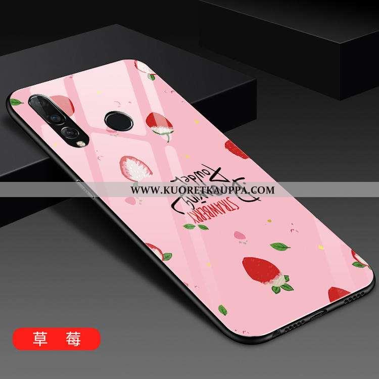 Kuori Huawei P30 Lite, Kuoret Huawei P30 Lite, Kotelo Huawei P30 Lite Lasi Persoonallisuus Puhelimen