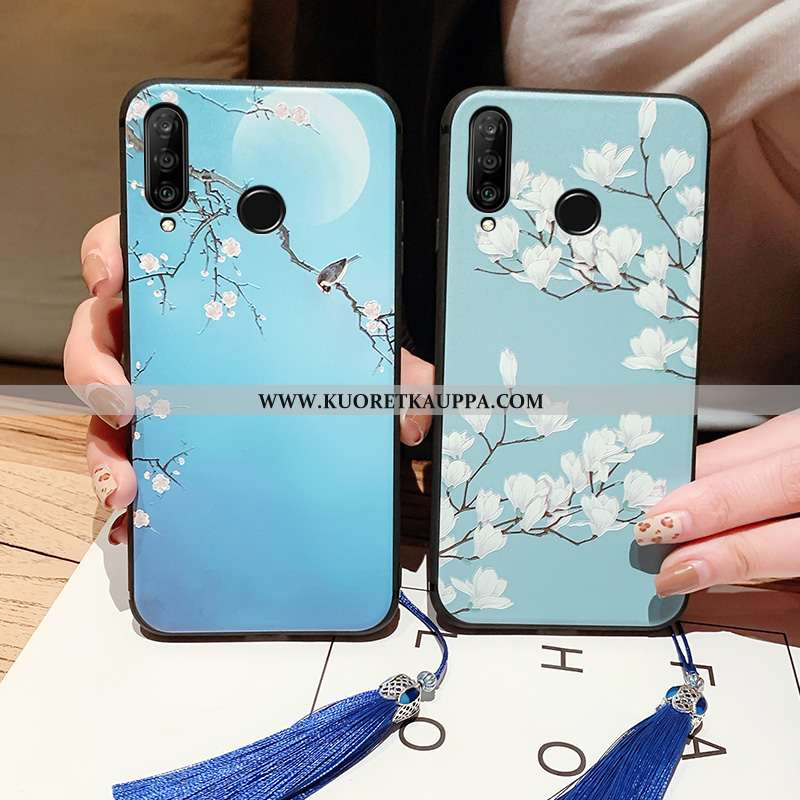 Kuori Huawei P30 Lite, Kuoret Huawei P30 Lite, Kotelo Huawei P30 Lite Pehmeä Neste Valo Palatsi Murt