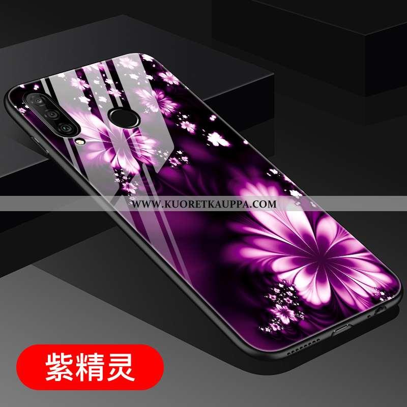 Kuori Huawei P30 Lite, Kuoret Huawei P30 Lite, Kotelo Huawei P30 Lite Persoonallisuus Suuntaus Lasi