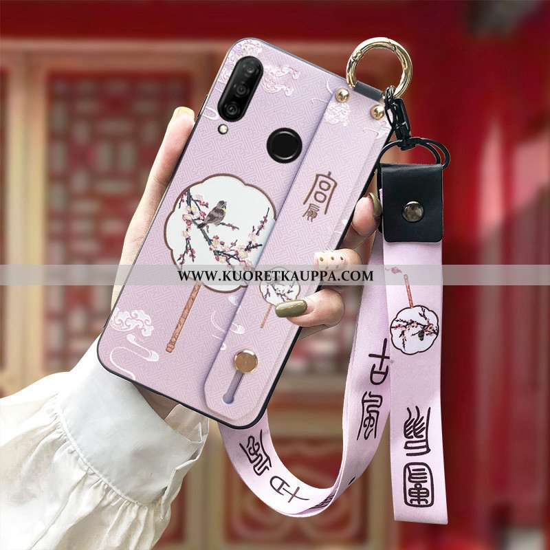Kuori Huawei P30 Lite, Kuoret Huawei P30 Lite, Kotelo Huawei P30 Lite Suojaus Ripustettavat Koristee