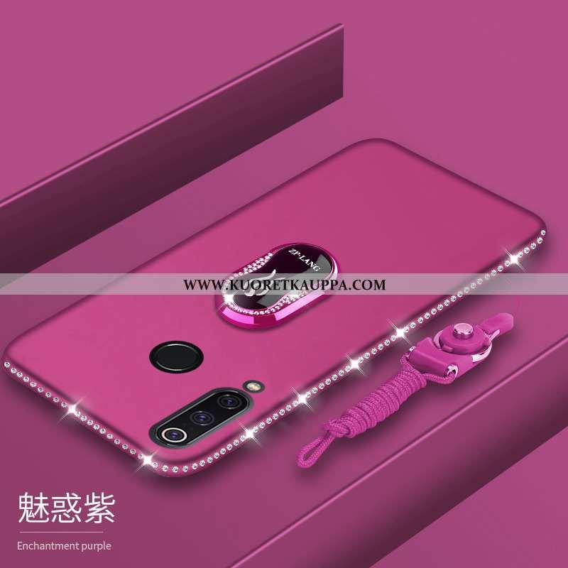 Kuori Huawei P30 Lite Xl, Kuoret Huawei P30 Lite Xl, Kotelo Huawei P30 Lite Xl Pesty Suede Pehmeä Ne