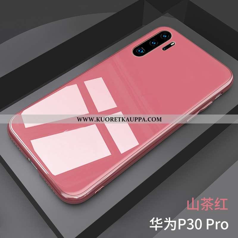 Kuori Huawei P30 Pro, Kuoret Huawei P30 Pro, Kotelo Huawei P30 Pro Suuntaus Ultra Murtumaton Vaalean