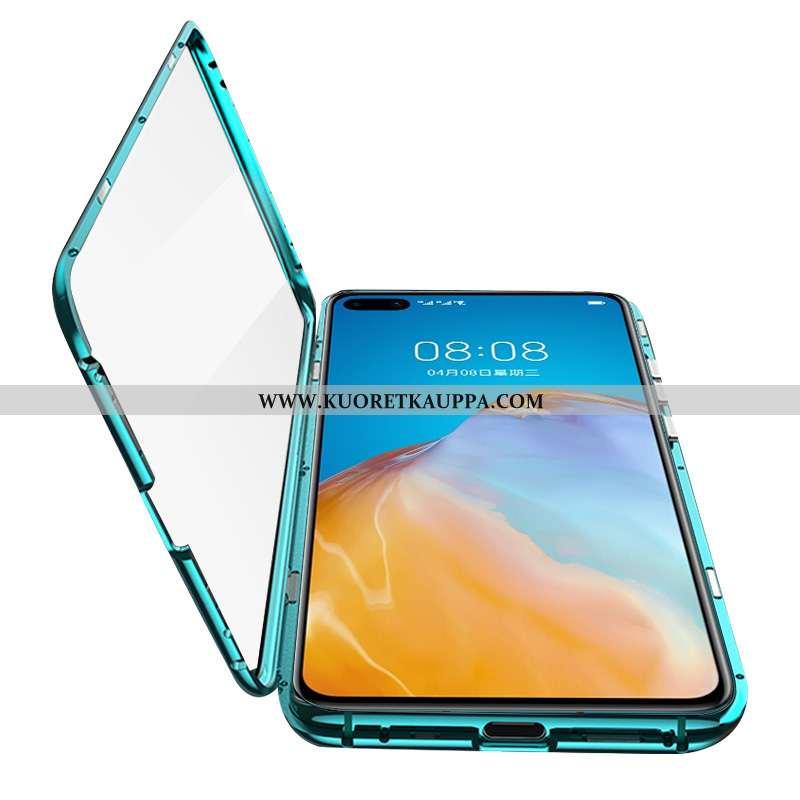 Kuori Huawei P40, Kuoret Huawei P40, Kotelo Huawei P40 Metalli Suojaus Magneettinen Kaksipuolinen Vi