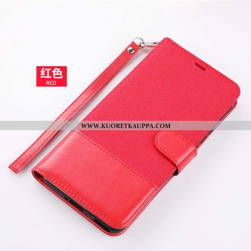 Kuori Huawei P40, Kuoret Huawei P40, Kotelo Huawei P40 Nahkakuori All Inclusive Punainen Murtumaton
