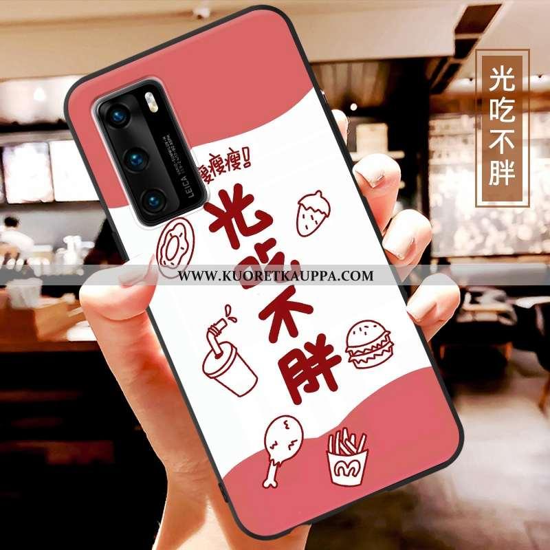 Kuori Huawei P40, Kuoret Huawei P40, Kotelo Huawei P40 Pesty Suede Persoonallisuus Suuntaus Valo Ult