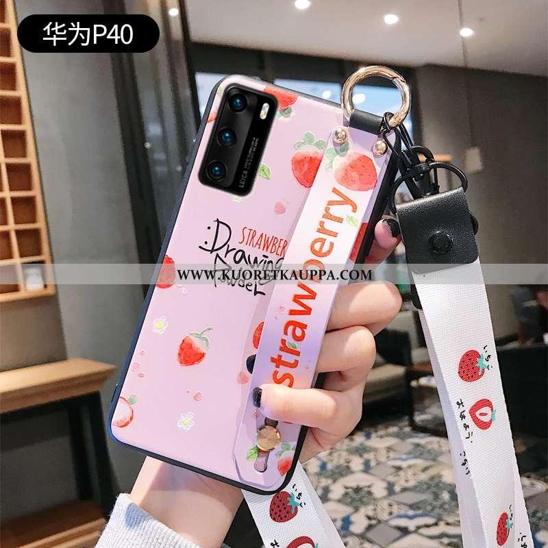 Kuori Huawei P40, Kuoret Huawei P40, Kotelo Huawei P40 Silikoni Suojaus Net Red Persoonallisuus Puhe