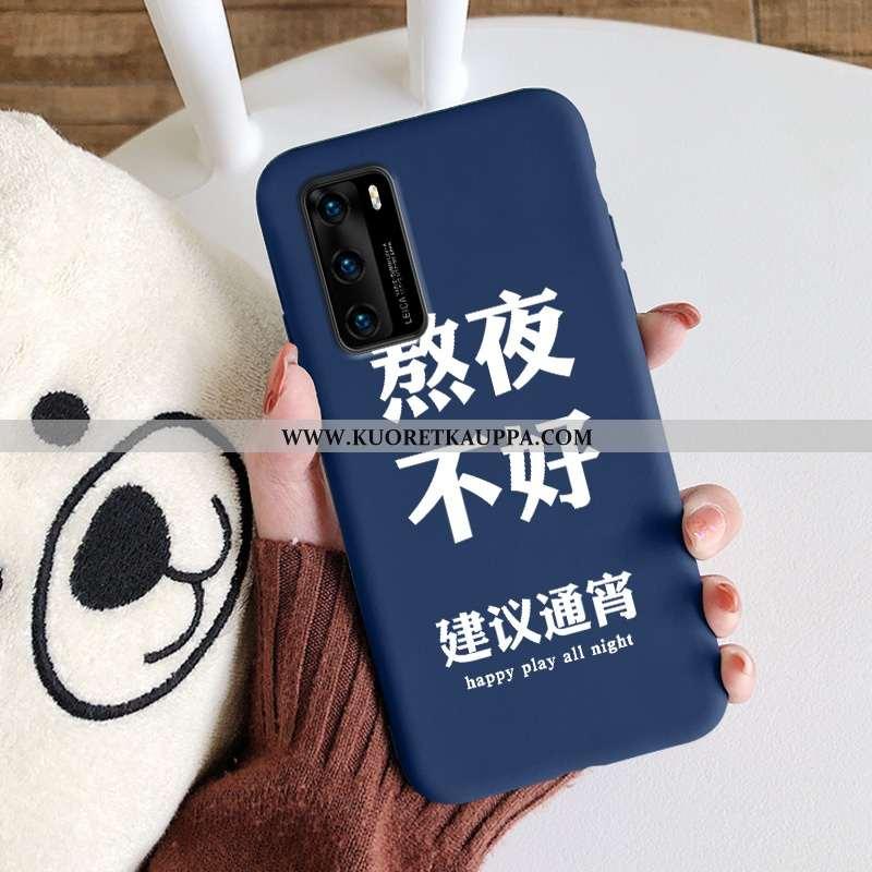 Kuori Huawei P40, Kuoret Huawei P40, Kotelo Huawei P40 Suojaus Silikoni Murtumaton Yksinkertainen Tu